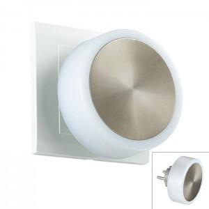 Светильник-ночник (в розетку) светодиодный с выключателем NOVOTECH NIGHT LIGHT 357322