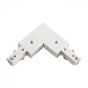 Соединитель для шинопровода L-образный для однофазного шинопровода NOVOTECH 135008