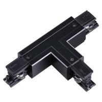 """Соединитель """"T"""" левый внешний с токопроводом для трёхфазного шинопровода NOVOTECH 135057"""