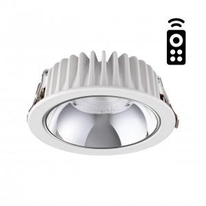 Встраиваемый диммируемый светильник на пульте управления со сменой цветовой температуры MARS 358296