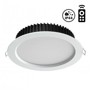Встраиваемый диммируемый светильник на пульте управления со сменой цветовой температуры DRUM 358302