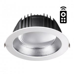 Встраиваемый диммируемый светильник на пульте управления со сменой цветовой температуры GESTION 358336