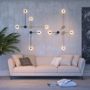 Настенный светильник ODEON LIGHT SATELLITE 3902/5WG