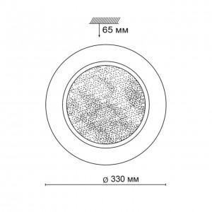 Настенно-потолочный светильник SONEX PINOLA 2079/CL